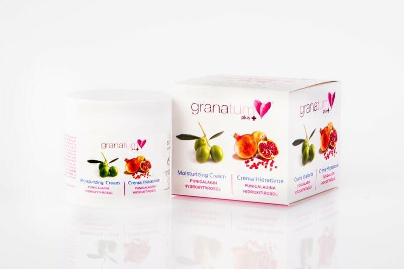Pack de Cremas Granatum, con Punicalagina e Hidroxitirosol