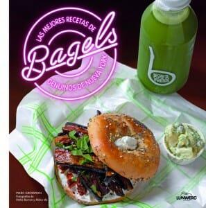Portada de Las mejores recetas de Bagels, genuinos de Nueva York
