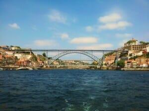 Puente de Luis I desde el río