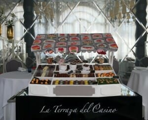 Carrito Petit Fours by Paco Roncero