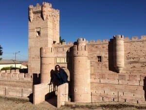 Recreación del Castillo de la Mota en el Parque Mudéjar