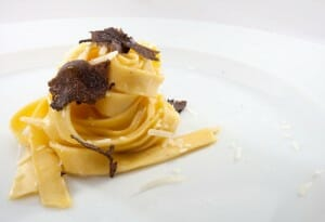 Pasta con trufa de Don Giovanni