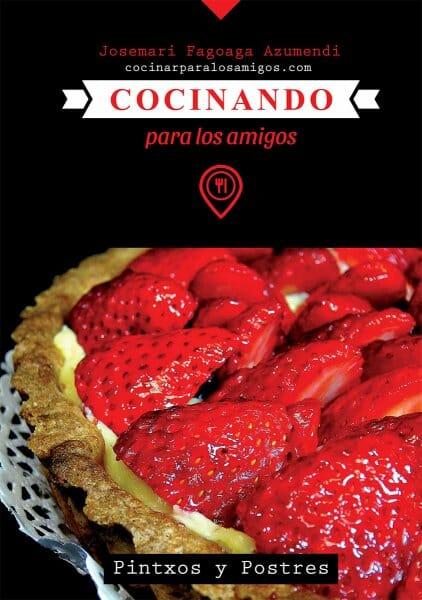 libro cocinando para los amigos