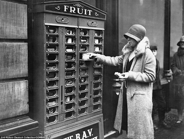 Imágen de una máquina vending