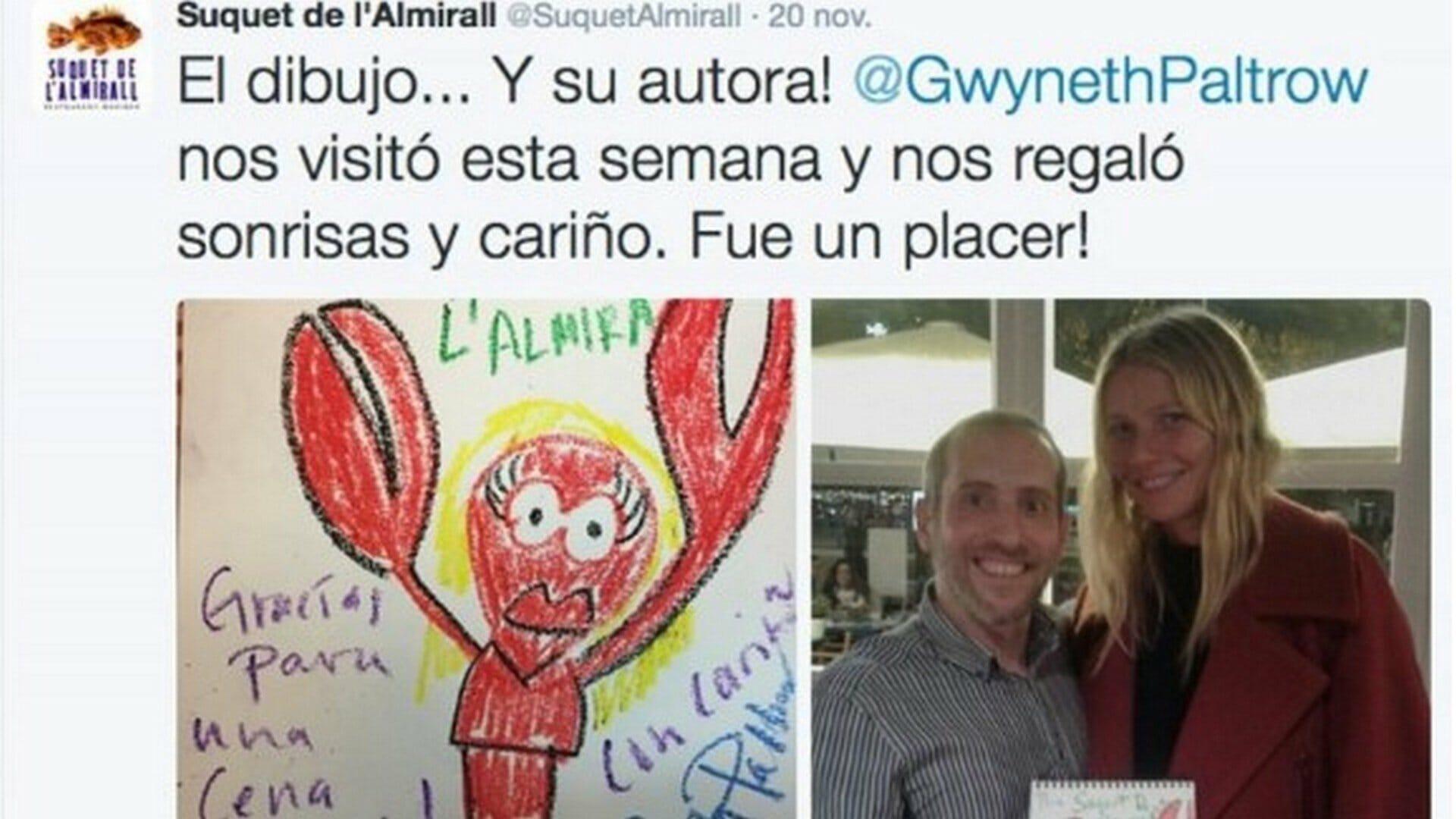 La Barcelona más gastronómica de Gwyneth Paltrow