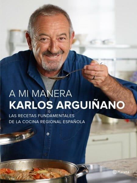 libro A mi manera Karlos Arguiñano