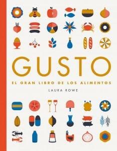 Portada de Gusto: el gran libro de los alimentos