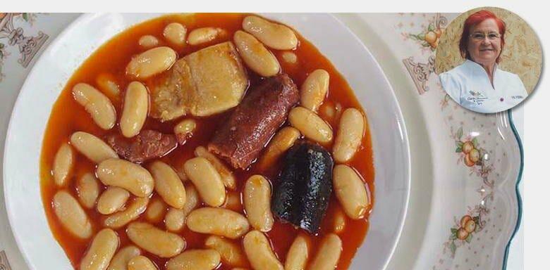 Fabada asturiana de Viri Fernández