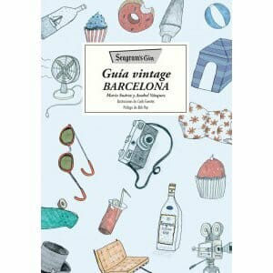 Portada de Guía vintage Barcelona
