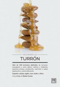 Portada de Diccionario LID Turrón