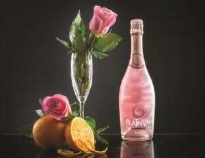 Fragancia Platinvm nº 3, con Pétalos de Rosa y Naranja
