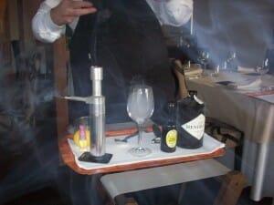 El humo en coctelería