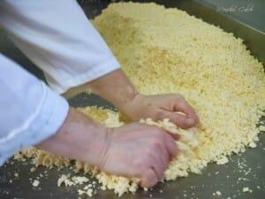 Amasado de la pasta
