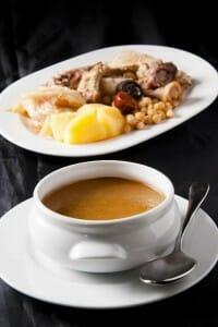 Los miércoles es día de cocido en Taberna Ponzano