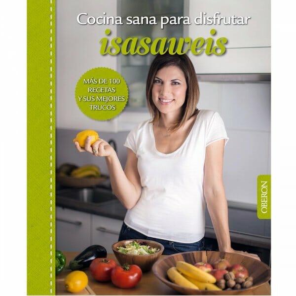 Portada libro Cocina sana para disfrutar