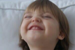 Bebé tras disfrutar de uno de los purés que os proponemos