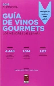 Portada de Guía de vinos Gourmets 2016