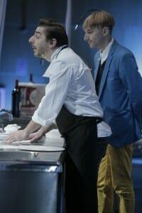 Jordi Roca con Neil Harbisson