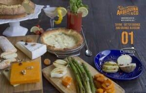 Arbequina & Co #1, con naranja amarga, tomillo y azahar