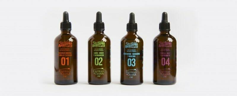 Arbequina&Co, una colección única de aceites para la elaboración de cócteles y para potenciar quesos, comidas y postres