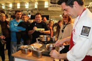 Show-cooking en GastroAlicante