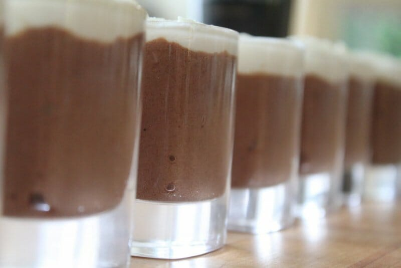 Mousse de chocolate con Guinness Original