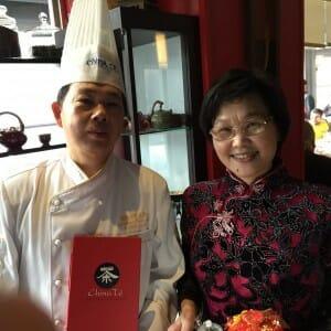 Lili y Paco, propietarios de China Té