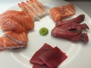 Pescados para sushi
