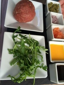 Ingredientes del Steak Tartar de Pedro Larumbe