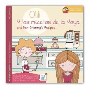 Portada de Olili y las recetas de la Yaya