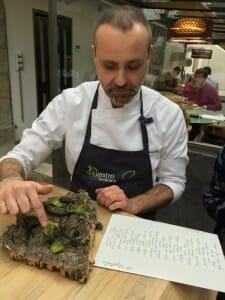 Rodrigo de la Calle y sus aperitivos