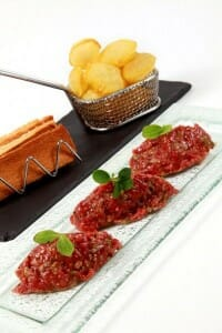 Steak Tartar de Pedro Larumbe