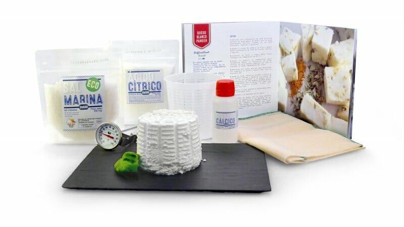 Kit para hacer quesos frescos artesanos de GastroJardín