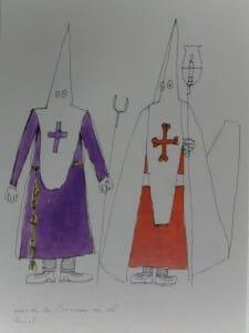 Cartel de Zóbel. Semana Santa Cuenca