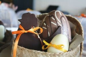 Figuras de pascua de Be Chocolat