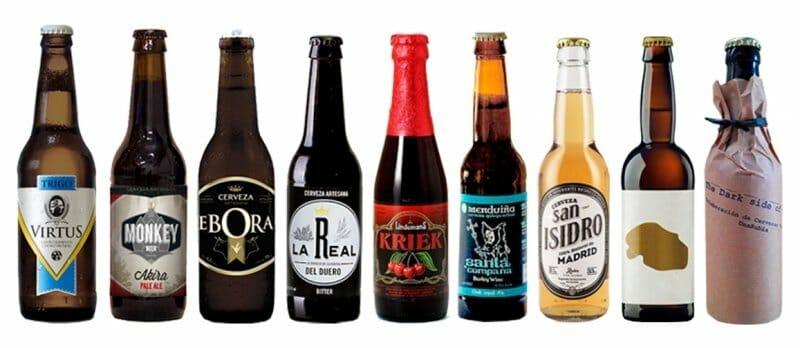 Cervezas artesanas con las que Chirón armoniza su menú