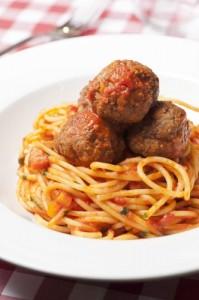 Espaguettis con albóndigas, de Giuseppina