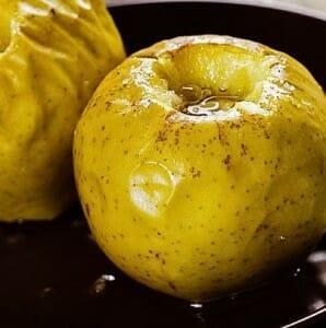 Manzana asada
