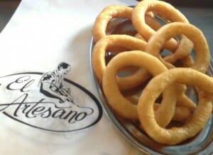 Churros sin gluten de 'El Artesano'