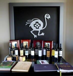 Símbolo y vinos de O Fournier