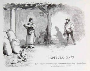 Capitulo XXXI, El Quijote