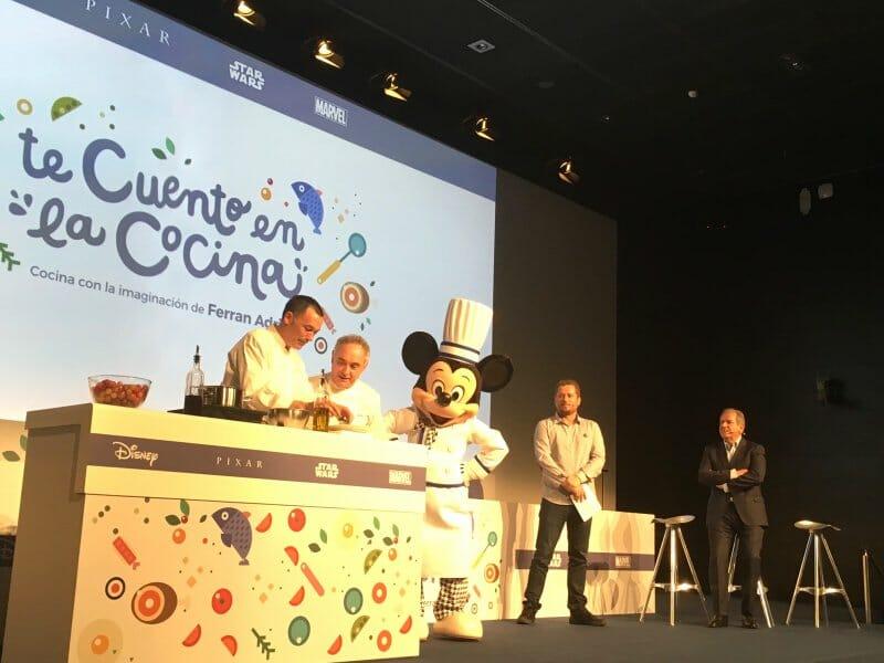 Ferran adri vuelve a cocinar para los ni os con los for Ferran adria comida