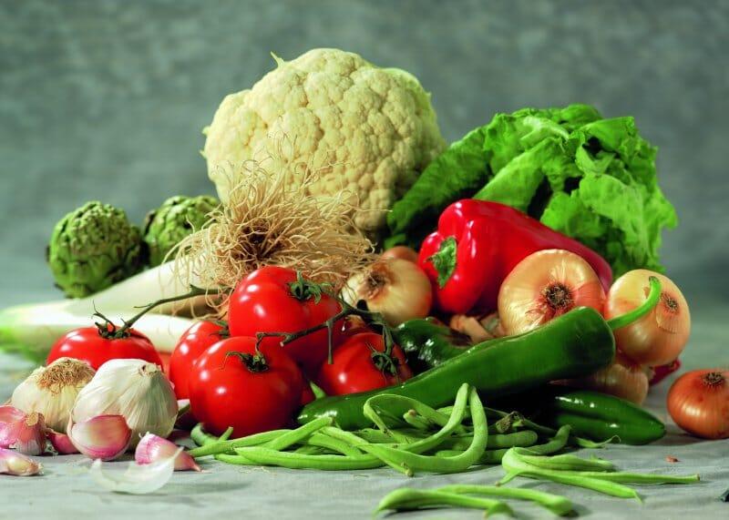 Bodegon hortalizas