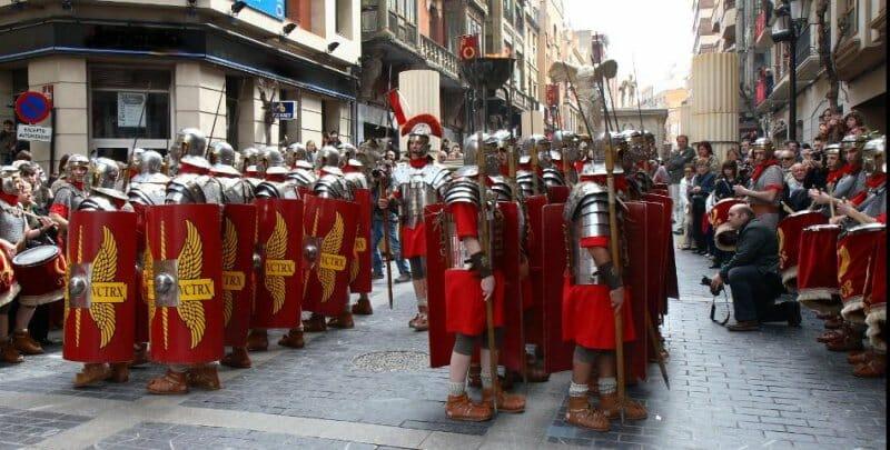 Legiones de romanos en el Mercaforum