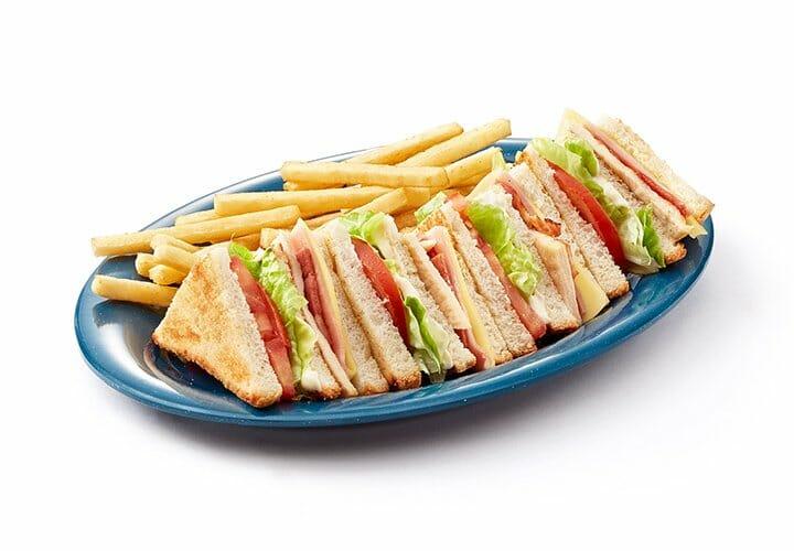 El clásico Sandwich Club de Vips en versión sin gluten