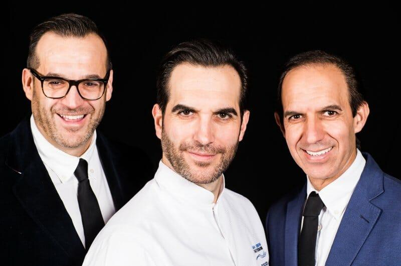 Diego, Mario y Rafael, los hermanos Sandoval