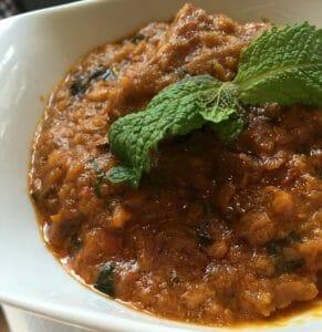 Curry de cordero Tilk