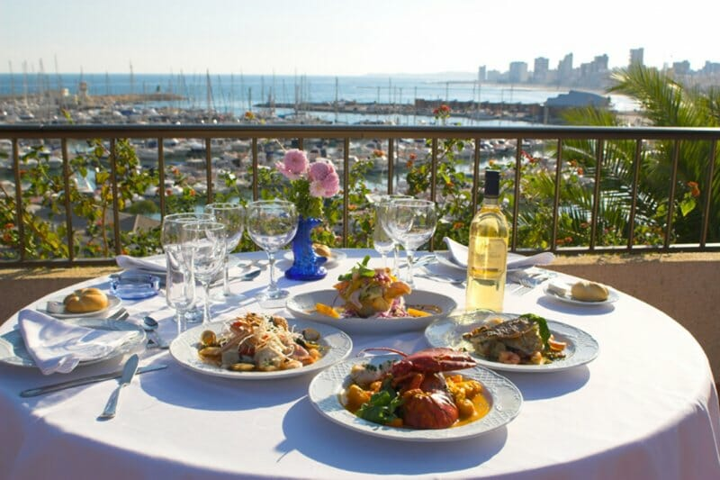 Gastronomía de Costa Blanca