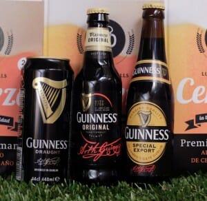 Gama cervezas Guinness