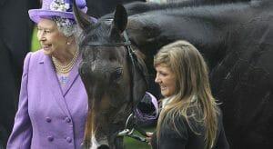 La Reina de Inglaterra es gran amante de la Hípica